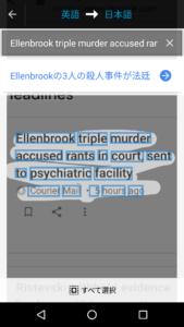 Google翻訳 翻訳箇所の大きくしたもの