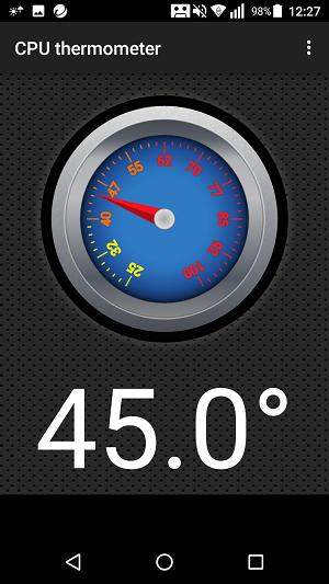 充電不可能の温度