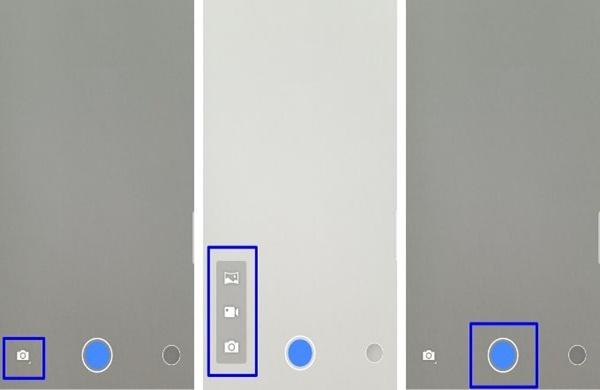 Android用HDカメラの撮影方法